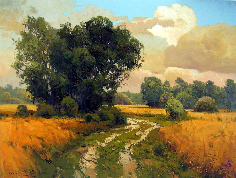 1000 images about ideas for landscape paintings on for Oil painting scenery